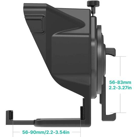 Ulanzi PT-15 Teleprompter Portátil para Cámaras y Smartphone con Control Remoto - Image 8