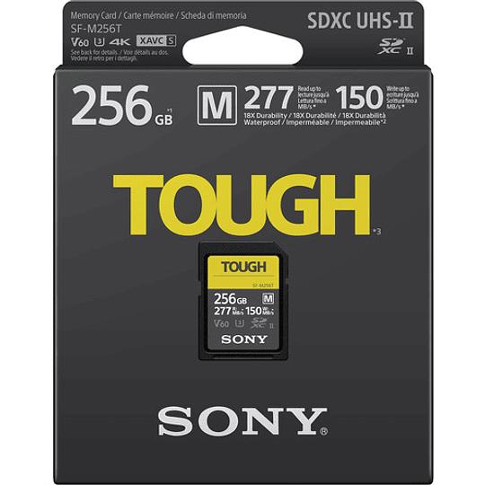 Sony 256GB SF-M TOUGH Series UHS-II SDXC Tarjeta de Memoria - Image 2