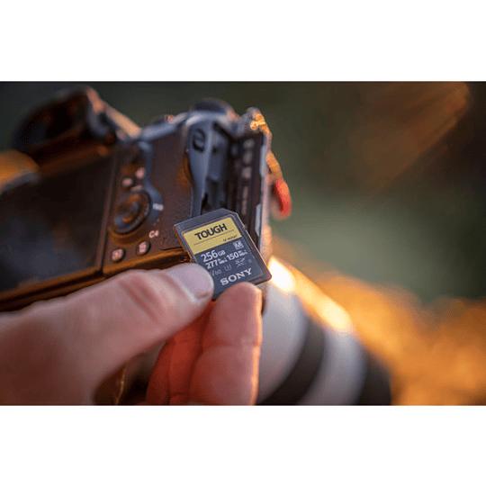 Sony 256GB SF-M TOUGH Series UHS-II SDXC Tarjeta de Memoria - Image 4