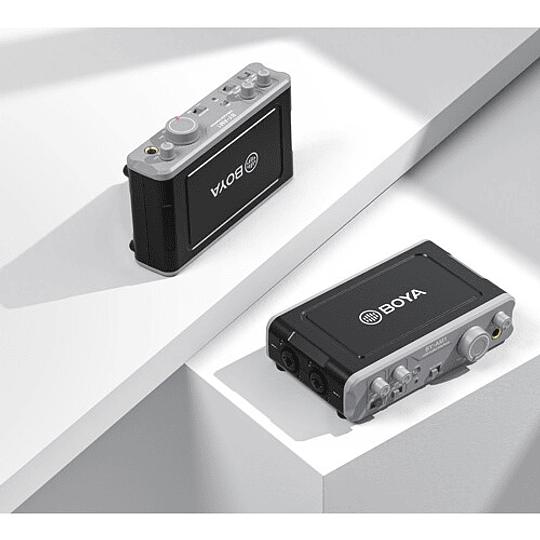 BOYA BY-AM1 Dual-Channel USB 2 Mezclador de Audio de Doble Canal - Image 2