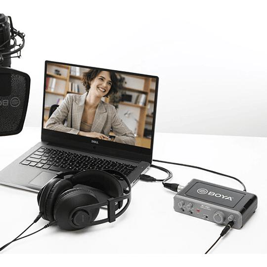 BOYA BY-AM1 Dual-Channel USB 2 Mezclador de Audio de Doble Canal - Image 3