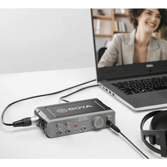 BOYA BY-AM1 Dual-Channel USB 2 Mezclador de Audio de Doble Canal - Image 4