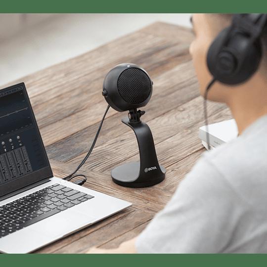 Boya BY-PM300 Micrófono De Podcast Alta Calidad Usb Y USB-C - Image 6