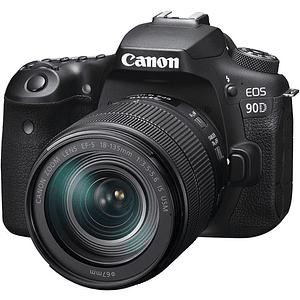 Canon EOS 90D DSLR Kit Con Lente EF-S 18-135mm f/3.5-5.6 IS USM / 3616C016AA