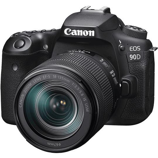 Canon EOS 90D DSLR Kit Con Lente EF-S 18-135mm f/3.5-5.6 IS USM / 3616C016AA - Image 1