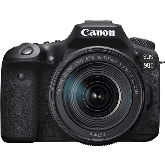 Canon EOS 90D DSLR Kit Con Lente EF-S 18-135mm f/3.5-5.6 IS USM / 3616C016AA - Image 3