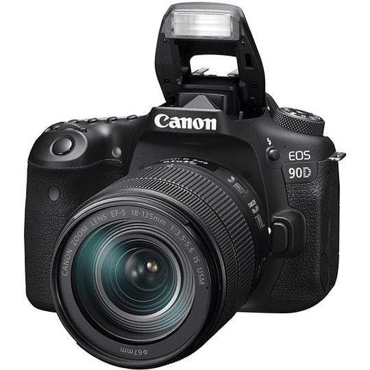 Canon EOS 90D DSLR Kit Con Lente EF-S 18-135mm f/3.5-5.6 IS USM / 3616C016AA - Image 5
