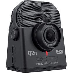 Zoom Q2n-4K Grabadora de Audio Profesional con Cámara de Video 4K