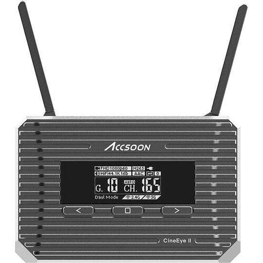 Accsoon CineEye 2 Transmisor de Video Inalámbrico para Hasta 4 Dispositivos Móviles - Image 2