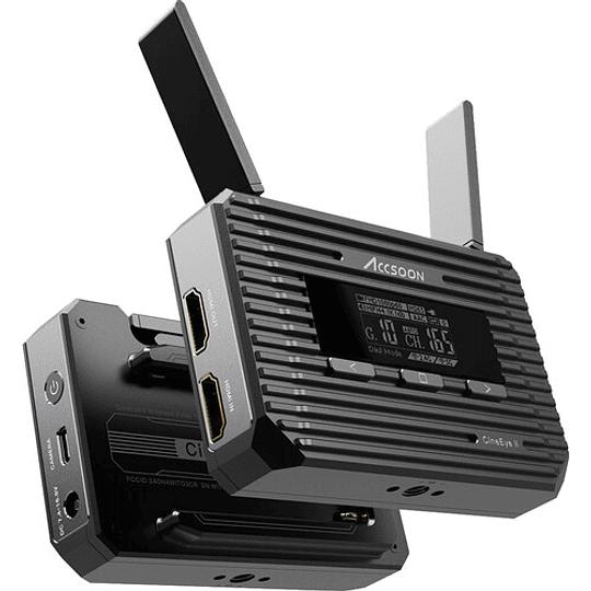 Accsoon CineEye 2 Transmisor de Video Inalámbrico para Hasta 4 Dispositivos Móviles - Image 7