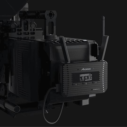 Accsoon CineEye 2 Transmisor de Video Inalámbrico para Hasta 4 Dispositivos Móviles - Image 10