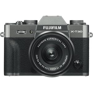 Fujifilm X-T30 Kit Cámara Mirrorless con Lente XC 15-45mm f/3.5-5.6 OIS PZ (Charcoal Silver)