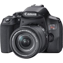 Canon EOS Rebel T8i DSLR Kit de Cámara con Lente 18-55mm f/4-5.6 IS STM
