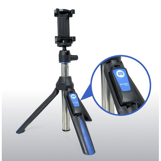 Benro BK10 Mini Trípode y Selfie Stick - Image 3
