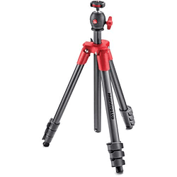 Trípode Manfrotto Compact Light Aluminum (Red)