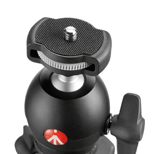 Trípode Manfrotto Compact Light Aluminum (Red) - Image 6