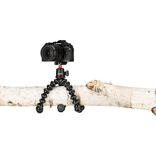 Joby GorillaPod 3K Mini-Trípode Flexible con Cabezal de Bola (Black/Charc) / JB01507 - Image 3