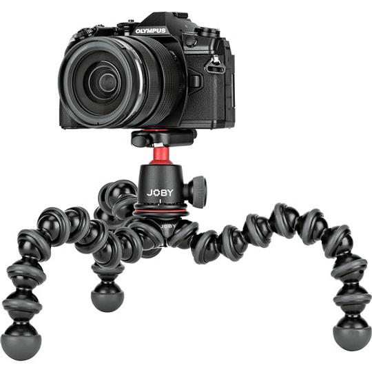 Joby GorillaPod 3K Mini-Trípode Flexible con Cabezal de Bola (Black/Charc) / JB01507 - Image 4