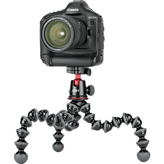 Joby GorillaPod 5K Mini-Trípode Flexible con Cabezal de Bola (Black/Charc) / JB01508 - Image 9