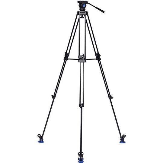 Benro KH26NL Kit Trípode de Aluminio para Video Profesional - Image 2