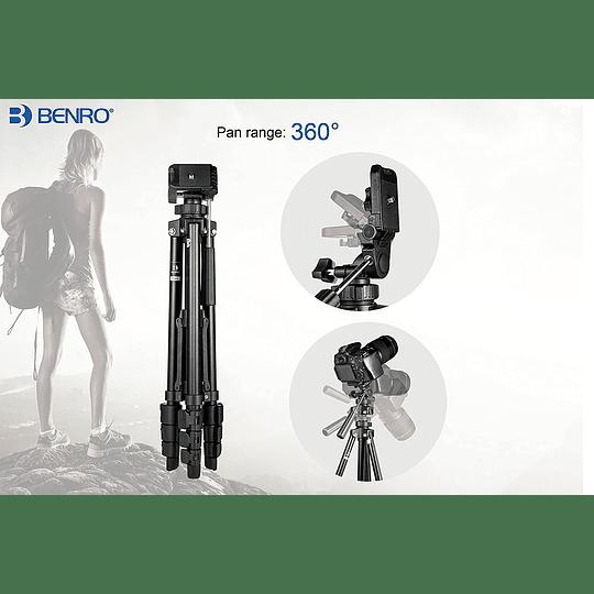 Benro T560 Trípode Básico Universal para Fotografía y Video - Image 3