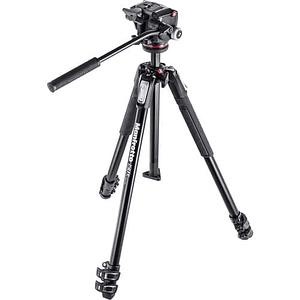 Kit de Vídeo Manfrotto MK190X3-2W con Cabezal Fluido