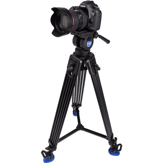 Benro KH26NL Kit Trípode de Aluminio para Video Profesional - Image 9