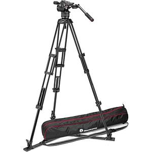 Kit de video Manfrotto Nitrotech Cabezal N8 y trípode Pro 546GB con esparcidor a nivel piso / MVKN8TWING