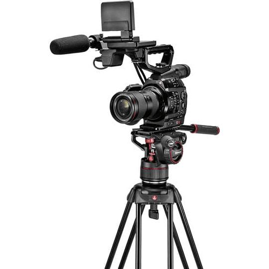Kit de video Manfrotto Nitrotech Cabezal N8 y trípode 546B Pro con esparcidor de nivel medio / MVKN8TWINM - Image 2