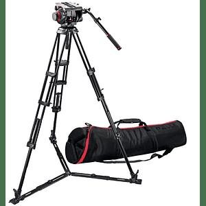 Kit de Vídeo Profesional Manfrotto 545GB + Cabezal MVH509HD + Bolso