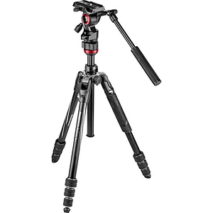 Manfrotto Befree Live Kit de Video con Cerradura Twist Locks / MVKBFRT-LIVE