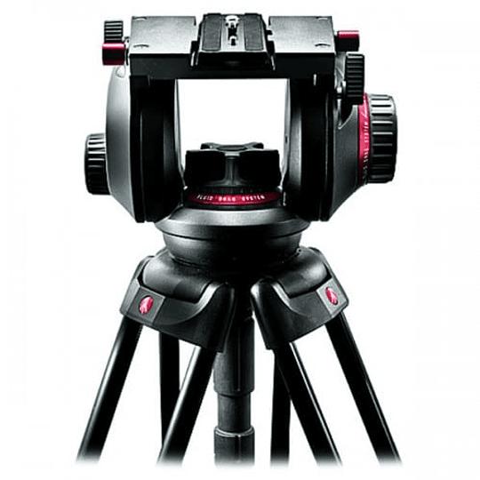 Kit de Vídeo Profesional Manfrotto 545GB + Cabezal MVH509HD + Bolso - Image 3