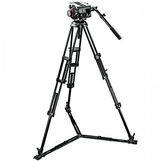 Kit de Vídeo Profesional Manfrotto 545GB + Cabezal MVH509HD + Bolso - Image 4
