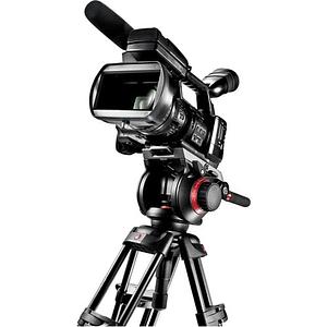 Kit de Vídeo Profesional Manfrotto 546GBK + Cabezal MVH504HD + Bolso