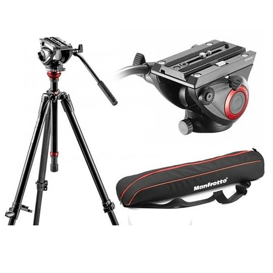 Kit de Vídeo Profesional Manfrotto 755XBK + Cabezal MVH500AH + Bolso - Image 1
