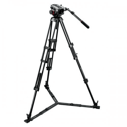 Kit de Vídeo Profesional Manfrotto 546GBK + Cabezal MVH504HD + Bolso - Image 3