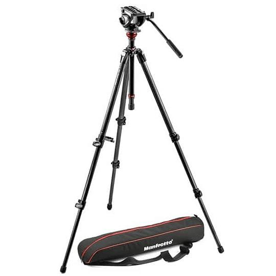 Kit de Vídeo Profesional Manfrotto 755XBK + Cabezal MVH500AH + Bolso - Image 3