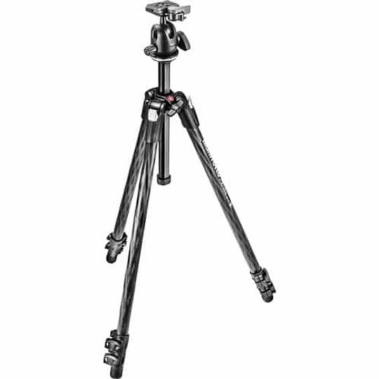 Manfrotto Kit MK290XTC3-BH de Fibra de Carbono y Cabezal de Bola - Image 2