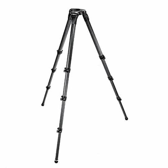 Kit profesional Manfrotto, Cabezal 504HD + Trípode Fibra de Carbono 536 - Image 2