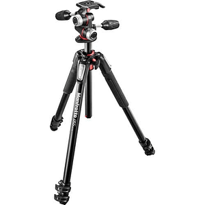 Manfrotto mk290lta3-v aluminio trípode video Head trípode de vídeo cabeza de video videocámara