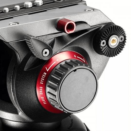 Kit profesional Manfrotto, Cabezal 504HD + Trípode Fibra de Carbono 536 - Image 7