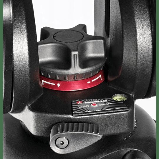 Kit profesional Manfrotto, Cabezal 504HD + Trípode Fibra de Carbono 536 - Image 8