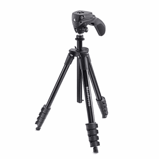 Trípode Manfrotto Compact Action Black - Image 1
