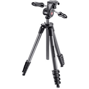 Trípode Manfrotto Compact Advanced Black