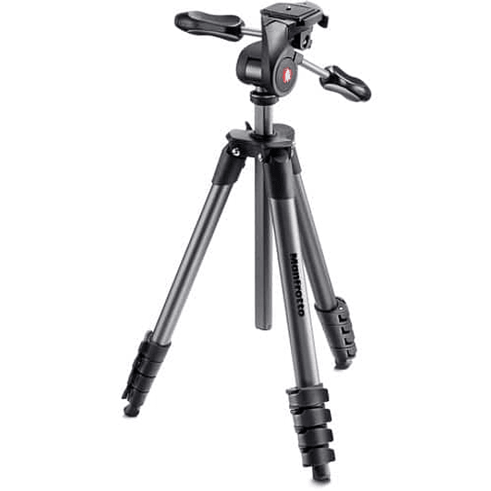 Trípode Manfrotto Compact Advanced Black - Image 1