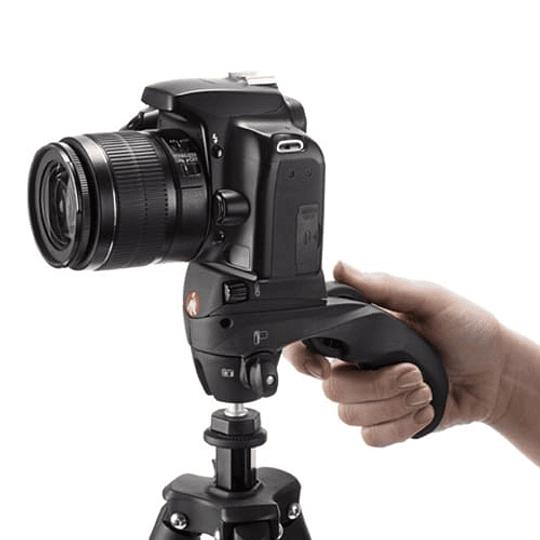 Manfrotto Compact Action Black Trípode de Aluminio - Image 4