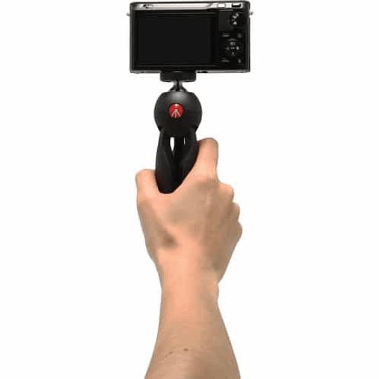 Mini Trípode Manfrotto Pixi Black Versión - Image 4