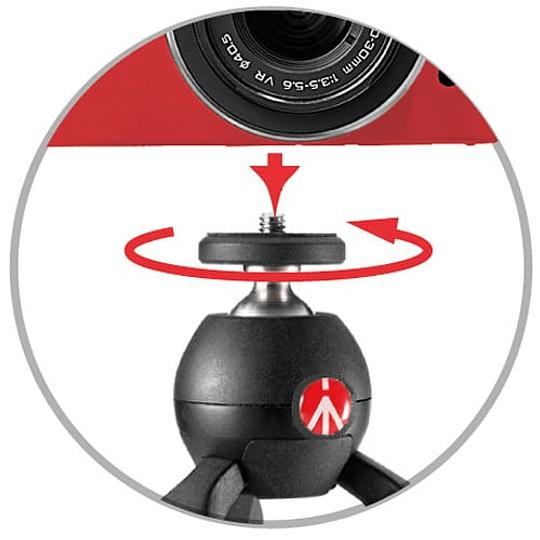 Mini Trípode Manfrotto Pixi Red Versión - Image 4