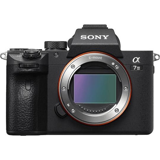 Sony Cámara Full-Frame MirrorLess Alpha a7 III (Solo Cuerpo) / ILCE7M3/B - Image 1