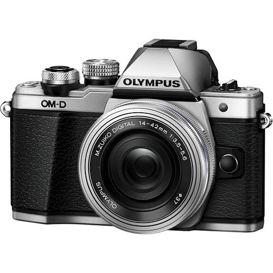 Olympus OMD EM10 Mark II Cámara Mirrorless Micro Cuatro Tercios en Kit de Lentes M. ZUIKO 14-42mm EZ / 40-150mm - Image 1